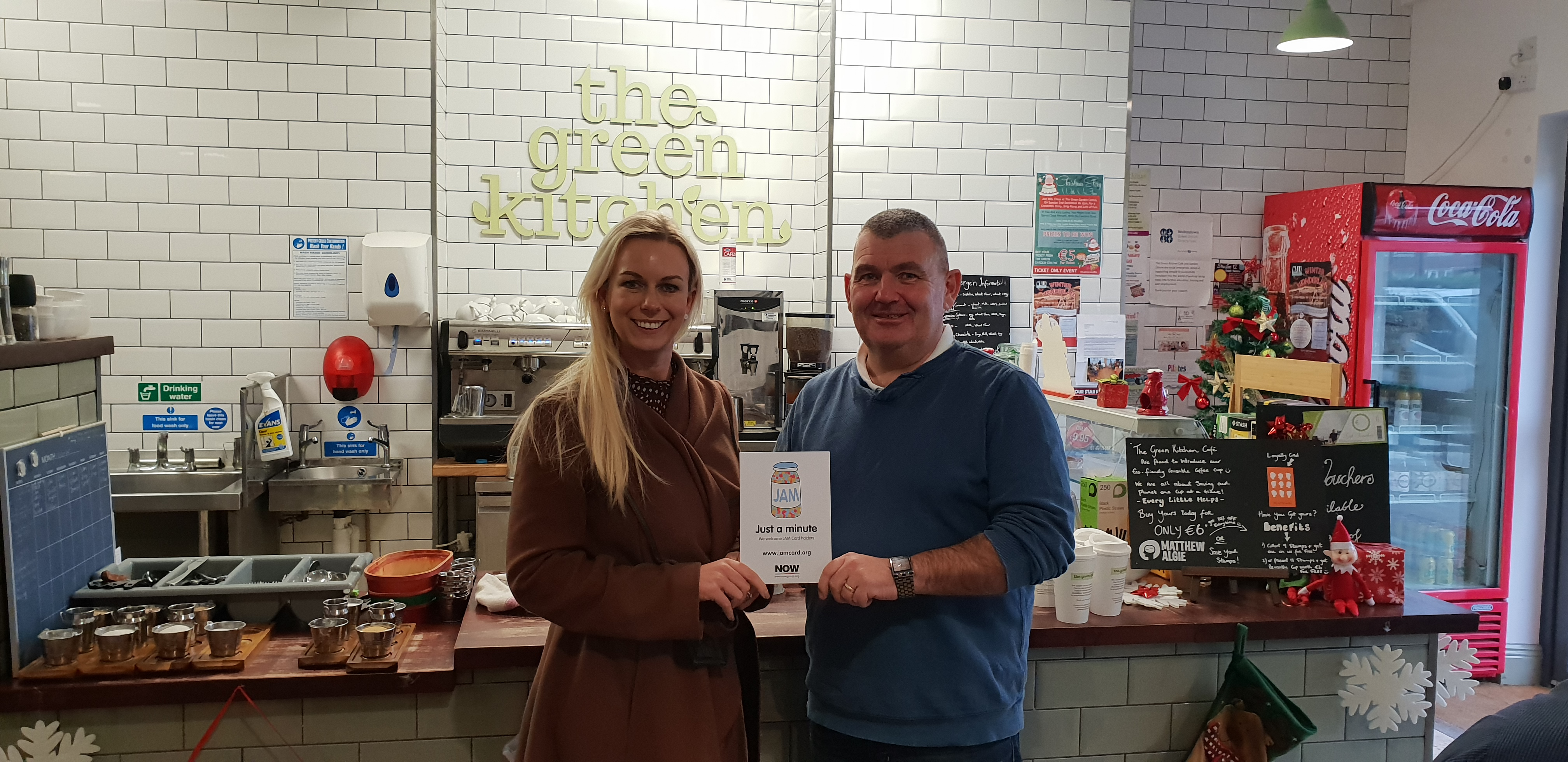 Walkinstown Green Social Enterprises becomes a JAM Card Friendly Organisation
