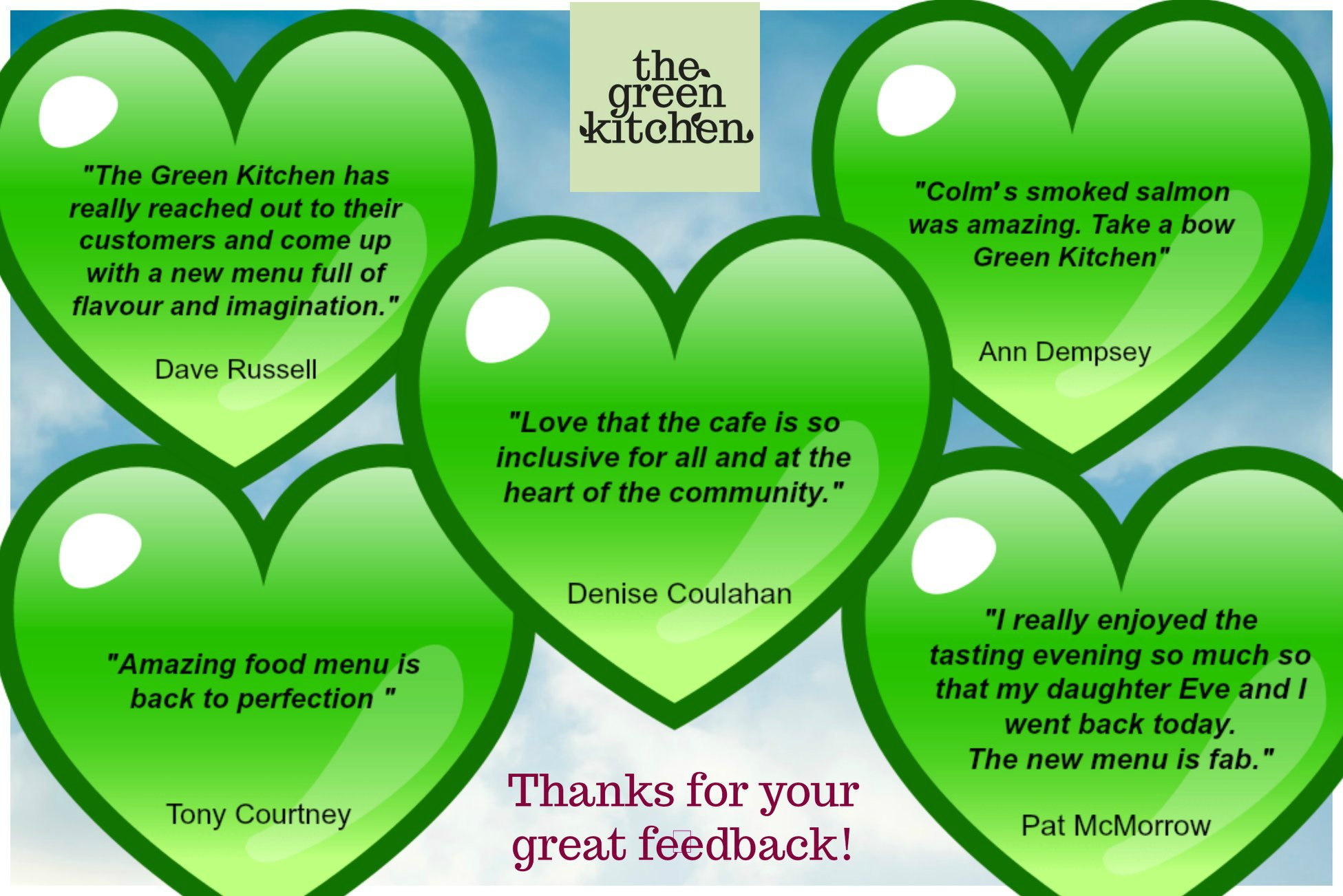 Green Kitchen Feedback