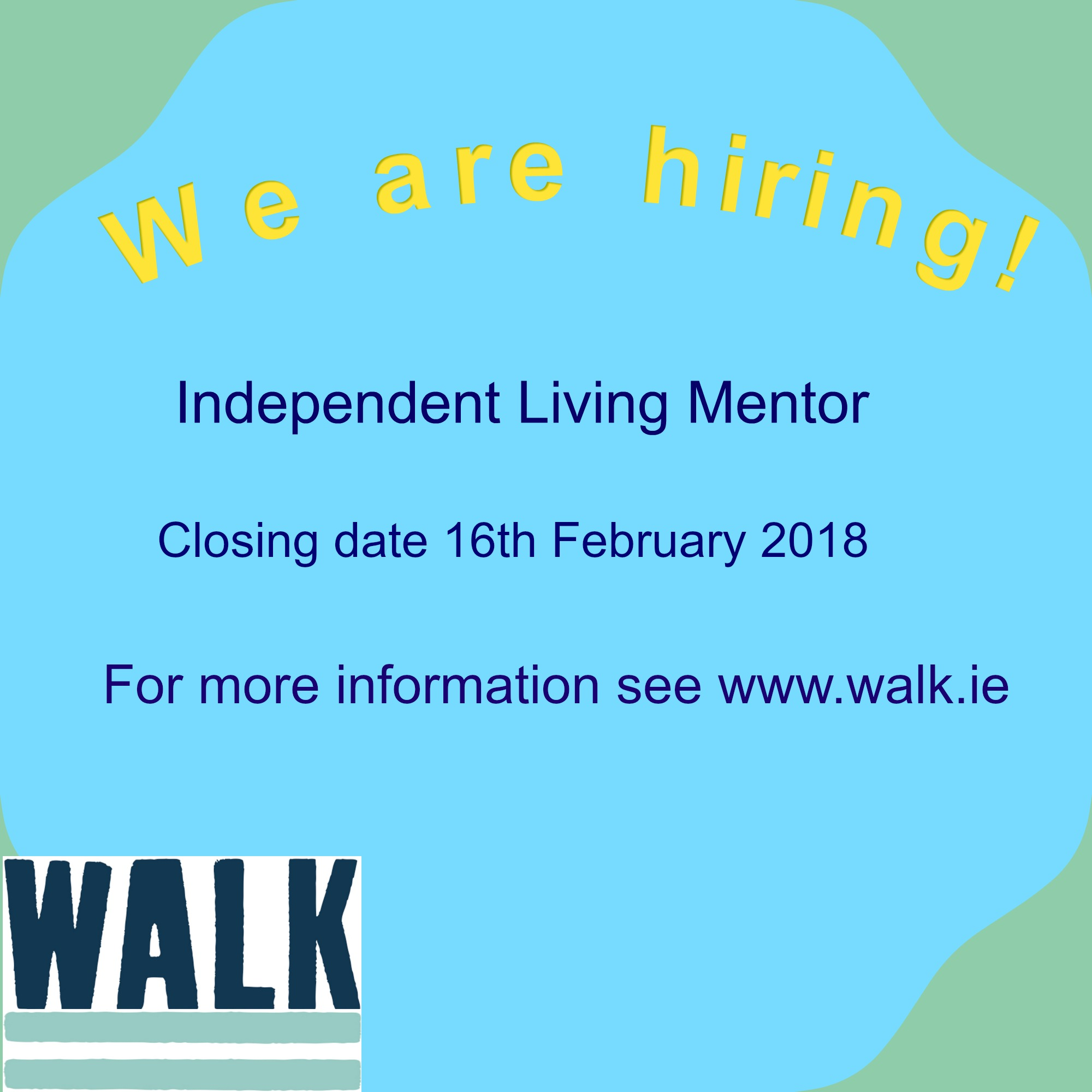 Want to work at WALK?